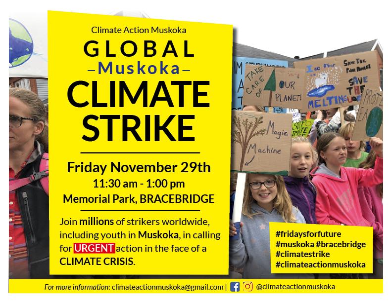Climate Strike Poster - November 29, 2019