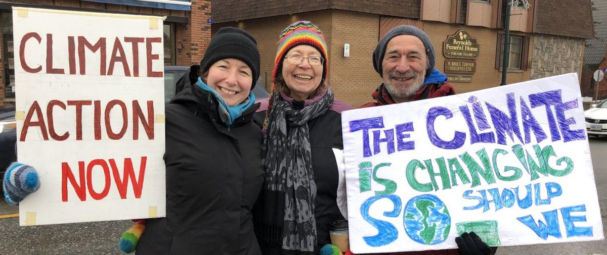 Weekly Climate Strikes Begin in Gravenhurst
