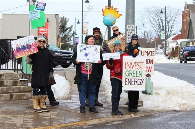 Gravenhurst climate strike-courtesy of Muskoka Region