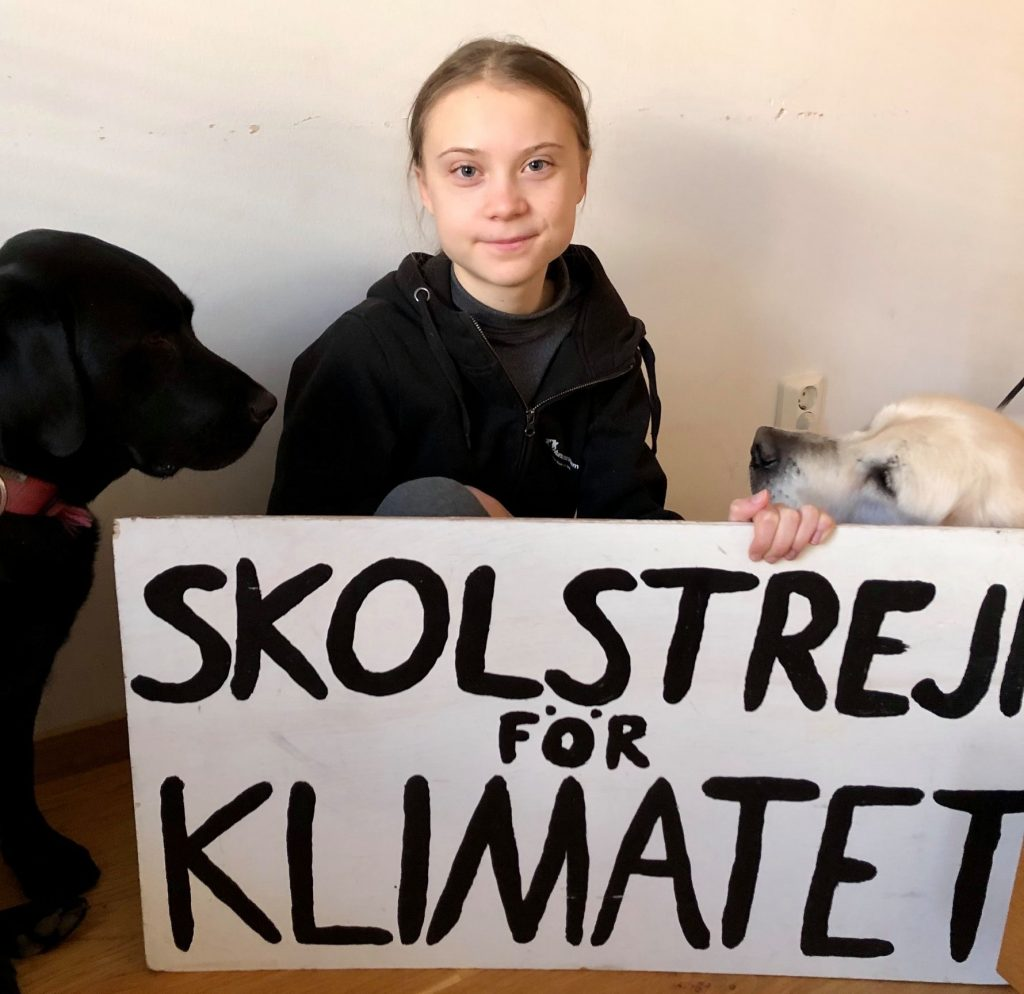 Greta's Digital Climate Strike